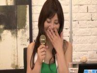 【無修正】女子アナ風美女がオナニーしたあとフェラ抜きしまくる!!
