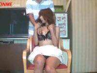 【無修正】スケベ巨乳人妻をハメ撮り中出し!!フェラエッロwww