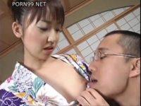 【無修正】美人浴衣娘とSEX!!最初にハメてから着替えてフェラ!!