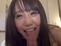 【無修正】ちえ20歳 激突きされて生理がきちゃったカラコン美少女