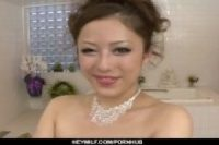 【無修正】ピンク色乳輪の茶髪風俗嬢が得意の手コキフェラ