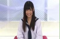 【無修正】美しい黒髪どスケベセーラー服美少女とハメまくる王道アダルトビデオ。
