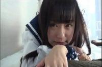 【無修正】女子高生コスプレで撮影会からの中出し