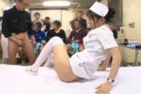 平和の為に何かしでかす前の溜まり過ぎた男をセックス診察する美人看護師がいる病院