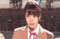 バストが急成長中の美少女JKをおっぱい揉みインタビュー!