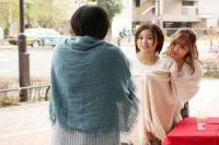 お花見花びら大回転!3人の泥酔JDオマンコを味見→一番おいしそうなマンコを頂き!!!