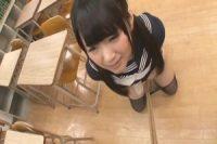 可愛い女子高生が、教室で変態教師に特別指導でお仕置き調教されてしまう