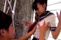 ロリ系美少女とエッチ三昧! 夏服セーラーの半袖と拘束着衣セックスするのは男の願望でしょ