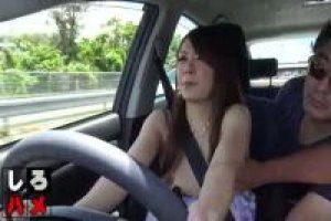 【無修正】エログ更新しました (無修正)素人かほ 25歳 車を運転するギャルをおっぱい丸出しにさせ周りから丸見えのままドライブ #JAV #Uncensored #Adultmovie