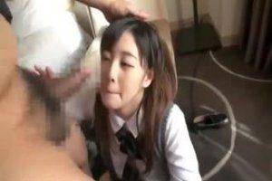 【※ハメ撮り※】小柄で可愛い美少女JKと円光パコ